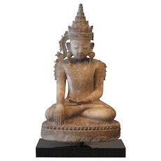 Alabasta Burmese Buddha