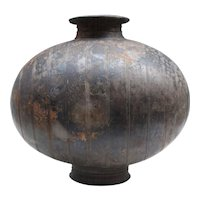 Giant Han-Dynasty Cocoon Vase