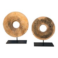 Pair of Neolithic Bi-Rings