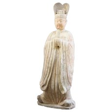 Terracotta Tang Dynasty Figure of an Official