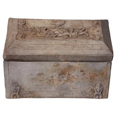 Terracotta Han Dynasty Cosmetic Box