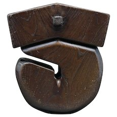 Japanese Wooden Kettle Hook