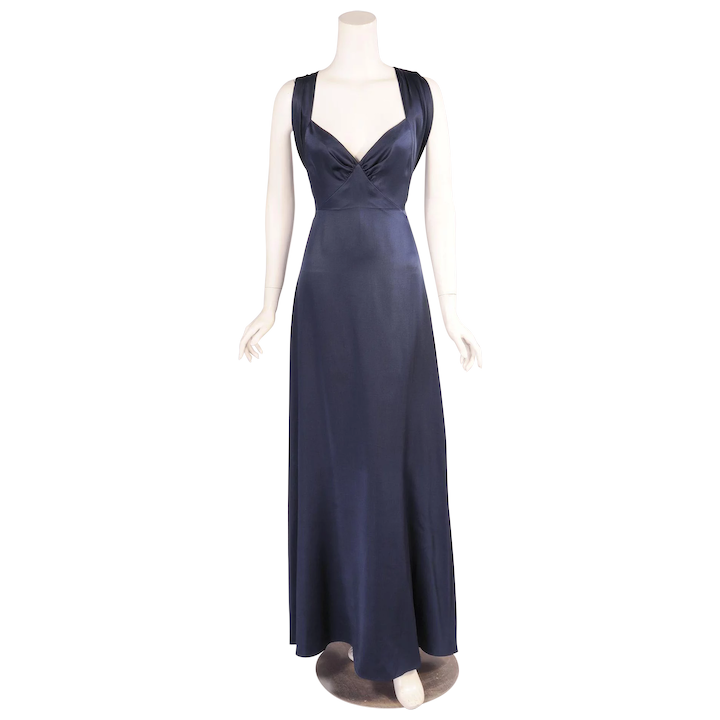 f9645197efd Yves Saint Laurent Numbered Haute Couture Evening Gown : Katy Kane | RubyLUX