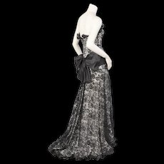 Yves Saint Laurent Haute Couture Evening Dress