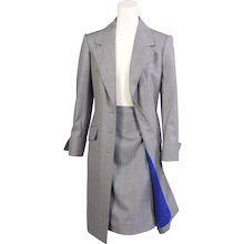 Givenchy Haute Couture Coat, Skirt & Pants Ensemble