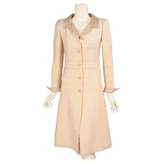 Pierre Balmain Couture by Oscar se la Renta Coat & Dress