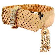 Italian 1960s Gold Bracelet