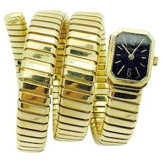 1980S Bulgari Serpenti Tubogas Lady`s Watch