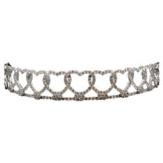 Love Forever Massoni Diamond and Gold Tiara