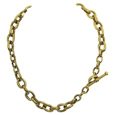 Kieselstein-Cord Gold Chain Necklace