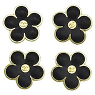 Chanel Flower Buttons