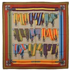 Hermes Belts Silk Scarf