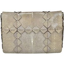 Ferragamo Stingray Clutch/Shoulder bag