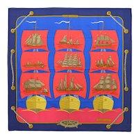 Hermes Grande Largue Silk Scarf