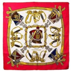Hermes Grand Uniforme Silk Scarf