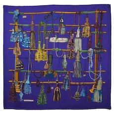 Hermes Passementerie Silk Scarf