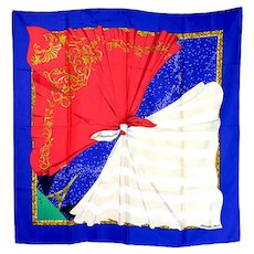 "Hermes ""Souvenirs"" Silk Scarf"