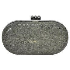 Judith Leiber Black Stingray Clutch