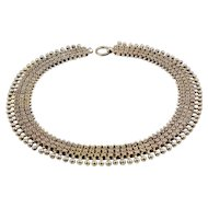 Victorian Silver Collar