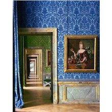Robert Polidori - In the Foreground the Portrait of F.-M. de Bourbon, Chateau de Versailles, 1984