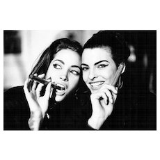 Arthur Elgort - Christy Turlington and Linda Evangelista