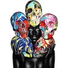Rankin - Painted Skulls Eyes open