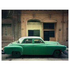 Robert Polidori - Green Car, Havana