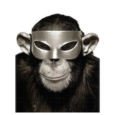 Monkey with Mask