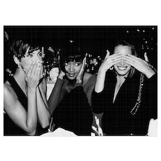 Roxanne Lowit - Linda Evangelista, Naomi Campbell and Christy Turlington
