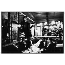 Arthur Elgort - Kate Moss at Cafe Lipp II