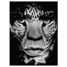 Albert Watson - Mick Jagger (Leopard)
