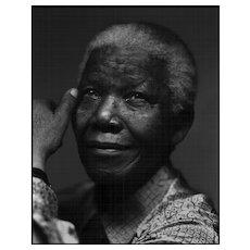 Mark Seliger - Nelson Mandela