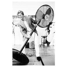 Ellen von Unwerth - David Bowie with Ventilator