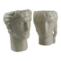 Geza DeVegh Art Deco Ceramic Head Vases