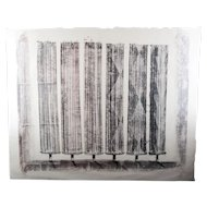 Harry Bertoia Monotype