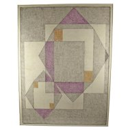 Charles Frederic Ramsey - Modernist Geometric Abstract - PAFA