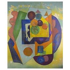 Joseph Meierhans Modernist Geometric Abstract - Bucks County PA