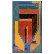 Luis Lopez Loza Abstract Modernist Painting - Mexico