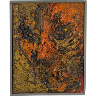 Albert Kotin Abstract Expressionist Painting
