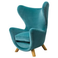 "Jean Royere ""elephanteau"" armchair"