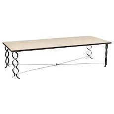 """Jean Royere """"ruban"""" coffee table"""