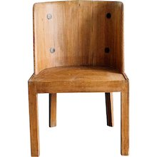 "A ""Lovö"" chair by Axel Einar, Sweden 1930"