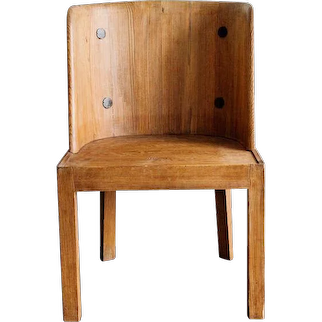 "A ""Lovö"" chair by Axel Einar, Sweden 1930"