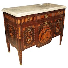 Louis XVI Marquetry Commode