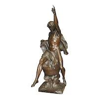 Emile Picault Bronze