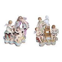 19th century two porcelain of MEISSEN