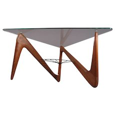Triangle Coffee Table by Louis Sognot