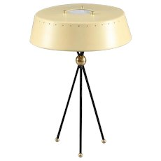 Tripod Table Lamp Attributed Arredoluce, Italy, 1950