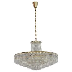 Vienna Crystal Glass Chandelier Manufacturer Bakalowits, 1950