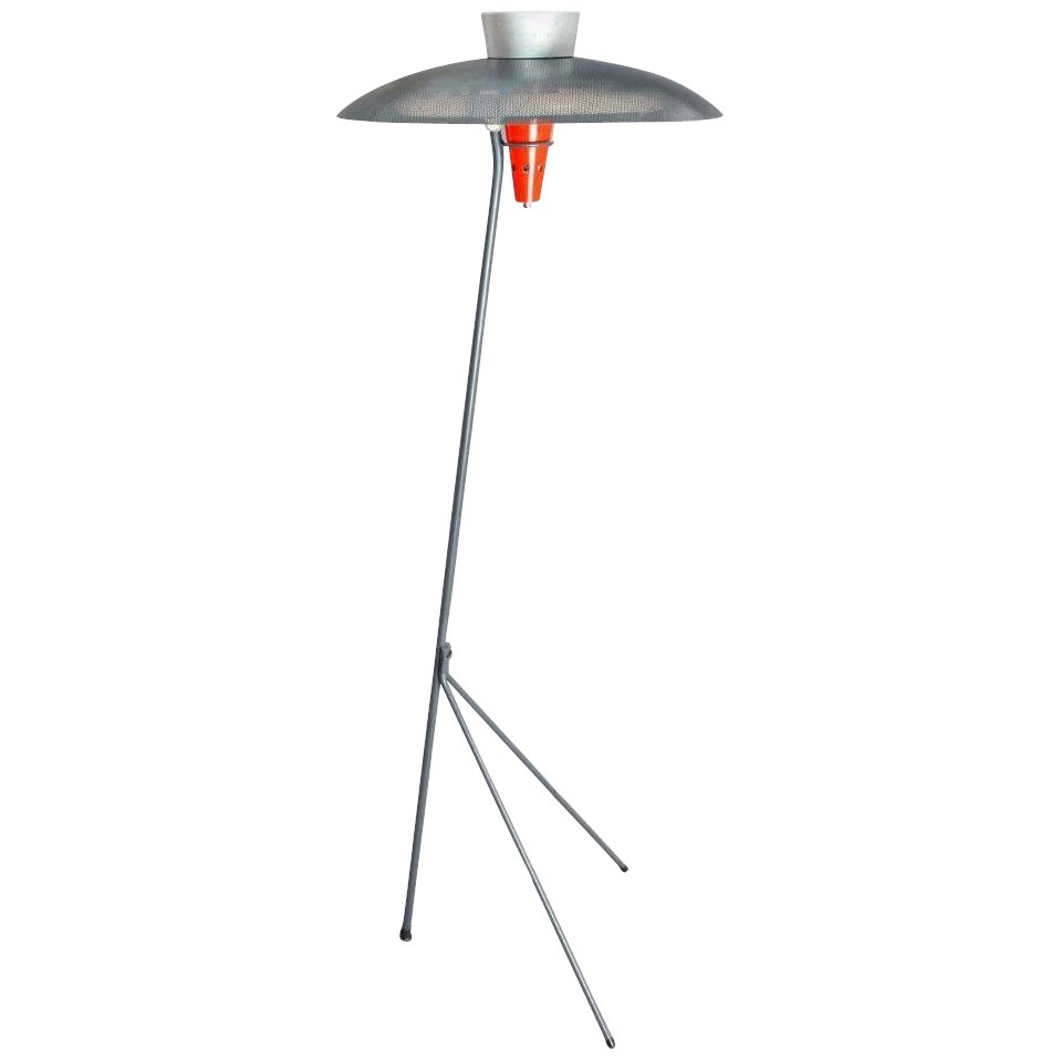 Louis Kalff Nx 38 Floor Lamp For Phillipps 1957 Galerie